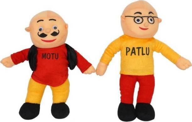 SHREE BALAJI Motu Patlu Soft Toy - 35  - 35 cm