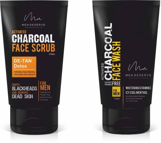 Men Deserve Skin Whitening Combo for Men (115ml) (Pack of 2)