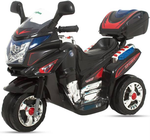 baybee Samurai FX PB-378R Battery Operated Bike with MP3 Player with 25 Kg Weight Capacity Bike Battery Operated Ride On