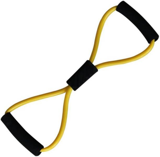 Bluebells India Resistance Exercise Band-Stretch Fitness Band For Yoga Fitness Workout Resistance Tube