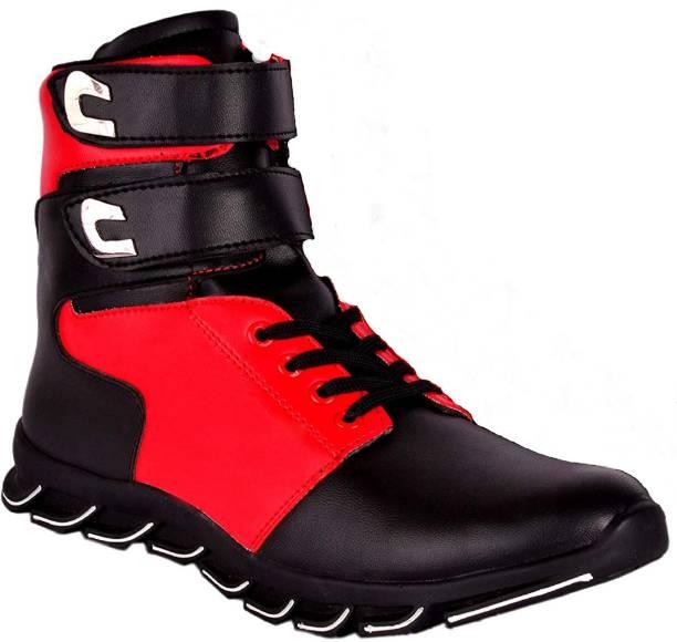 Zixer Poma Dancing Boots Sneakers High Tops For Men