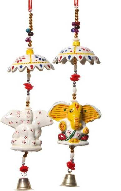 Fashion Bizz 'Decorative Ganesh' Paper Mache Door Hanging / Toran
