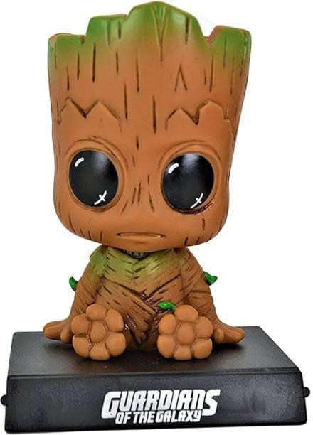 AweStuffs Marvel Avengers Infinity War Baby Groot Bobblehead Action Figure