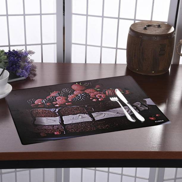 KUBER INDUSTRIES Rectangular Pack of 6 Table Placemat