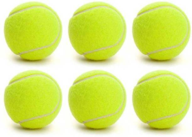 COMPASS Light Weight Pack Of 6 Piece Cricket Tennis Ball