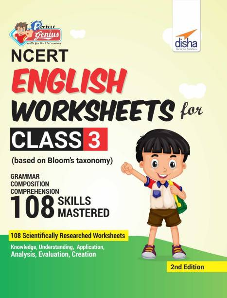 Perfect Genius NCERT English Worksheets for Class 3 (based on Bloom's taxonomy) 2nd Edition