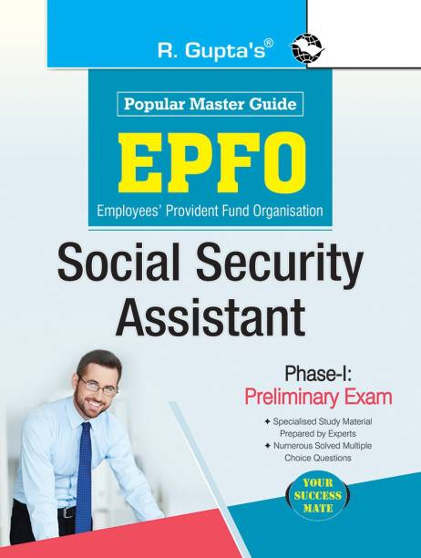 EPFO: Social Security Assistant Phase-I : Preliminary Exam Guide