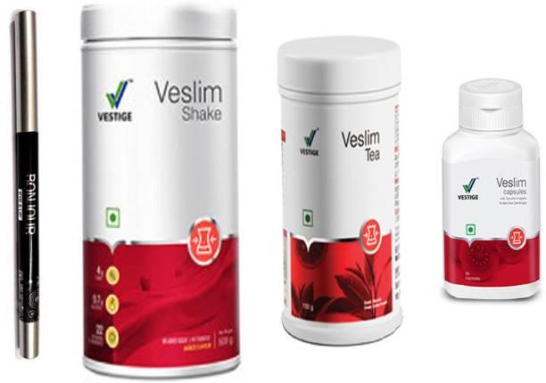 Vestige Veslim sliming shake , tea and capsules with kajal