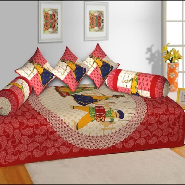 Fantastic Cotton Diwan Sets Buy Cotton Diwan Sets Online At Best Cjindustries Chair Design For Home Cjindustriesco