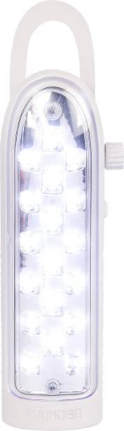 THUNDER LEGEND LED LIGHT White Plastic Hanging Lantern