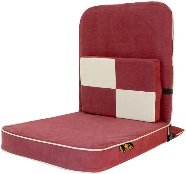 Friends of Meditation Chair-456789 Maroon Floor Chair