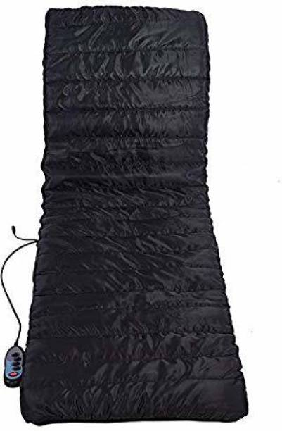 porche Luxurious Silky Quilted Soothing Heating Vibrating Head Neck Leg Massager Bed Cushion with Remote Control for Massage Electric Massage Bed