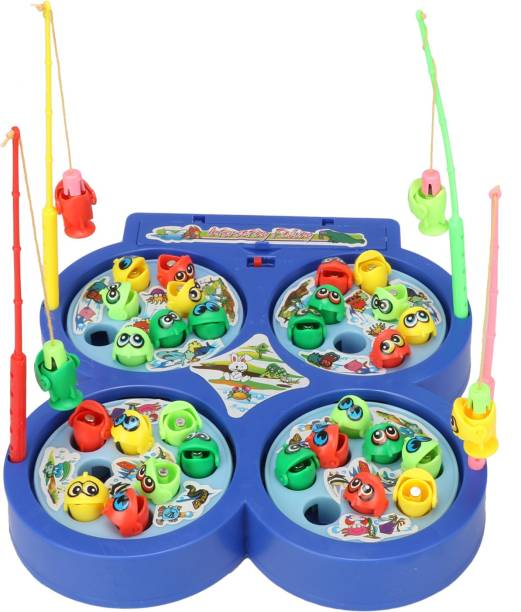 kdsn P17 collection Fishing Catching Game and msucial With Music Party & Fun Games Board Game
