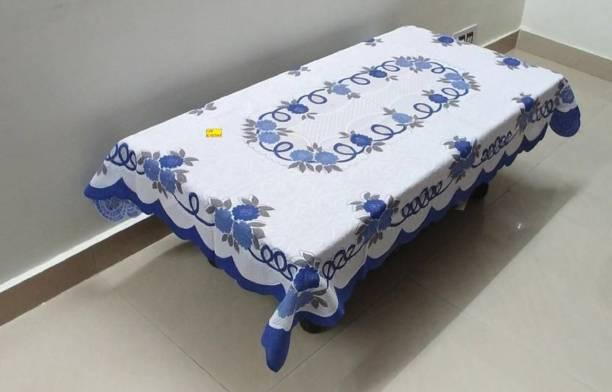 Flavio Interiors Self Design 4 Seater Table Cover