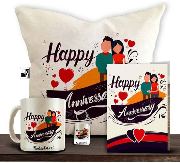 alDivo Mug, Cushion, Greeting Card, Keychain Gift Set