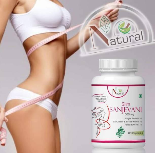 NATURAL Slim sanjevani herbal capulses for improves cholestroel level 100% Ayurvedic