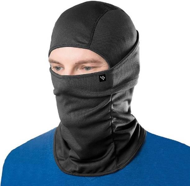 ryddr Black Bike Face Mask for Men & Women
