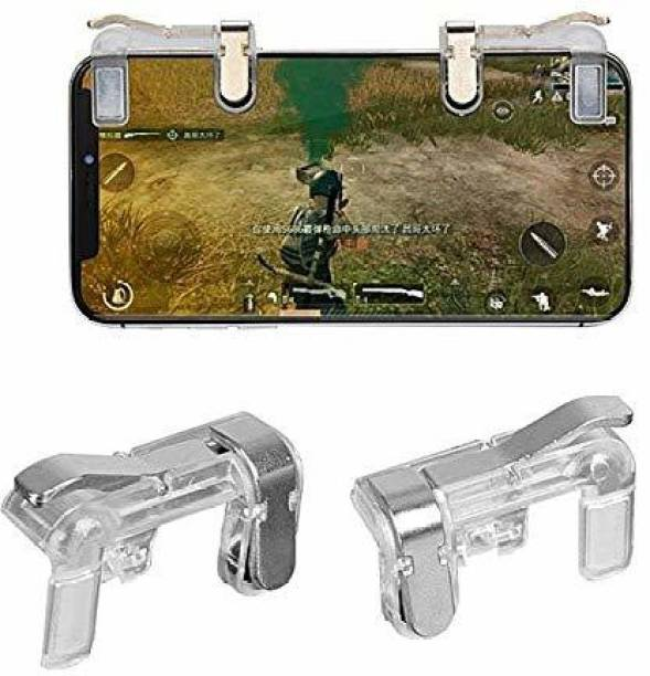 T GOOD Lite PUBG Sensitive Shoot/Aim Buttons L1 R1 Trigger Mobile Game Controller for Andriod & IOS  Gamepad