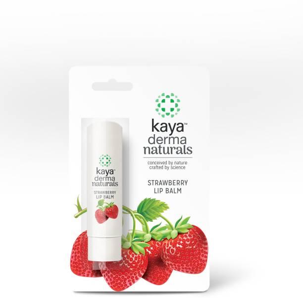 KAYA Derma Naturals Lip Balm Strawberry