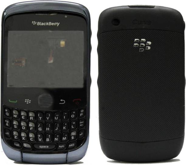 plitonstore BlackBerry Curve 3G 9300 Black BACK PANEL FOR-(BLACKBERRY CURVE 3G 9300)-(BLACK) Back Panel