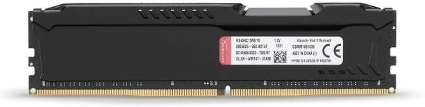 KINGSTON PC4-19200 DESKTOP RAM DDR4 16 GB (Dual Channel) PC (Hyper X HX424C15FB/16 16GB DDR4-2400 CL15 288-Pin DIMM)