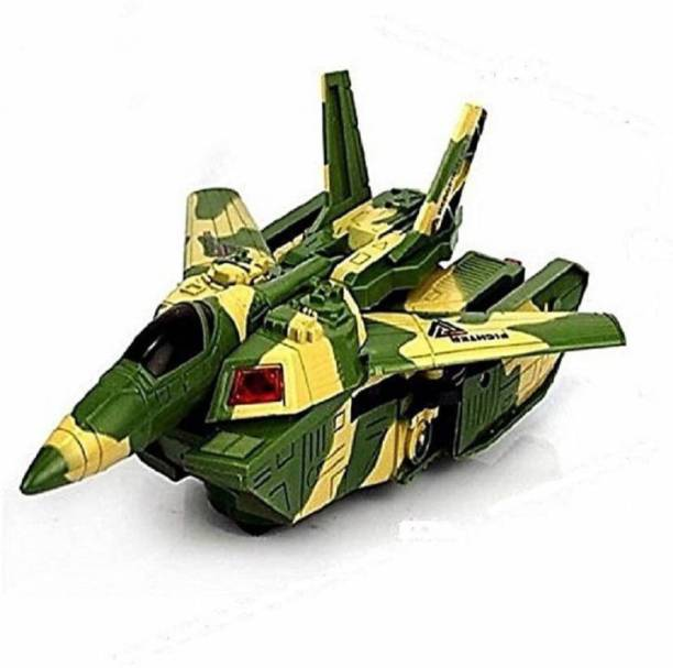 Vpro Automatic Deformation 2 in 1 Aircraft & Tank Children's Toys