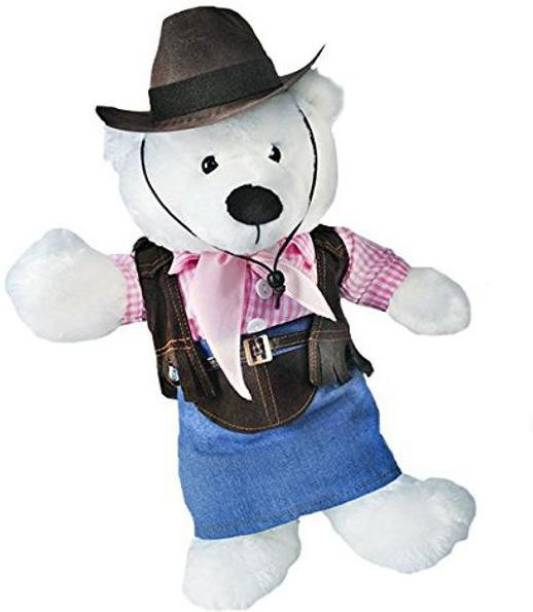 Cowgirl with Pink Hat and Scarf Fits Most 8-10 Webkinz Shining Star and 8-10 Make Your Own Stuffed Animals and