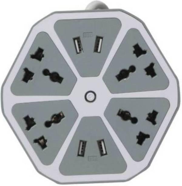 Bhani HEXAGON SOCKET-HS07 4  Socket Extension Boards