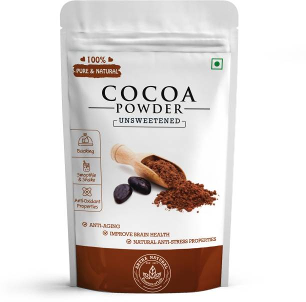 ARTHA NATURAL Cocoa Powder (Natural & Unsweetened Cocoa Powder)- 100 gm Cocoa Powder