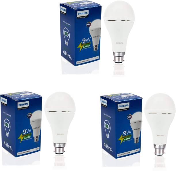 PHILIPS 9 W Standard B22 Inverter Bulb