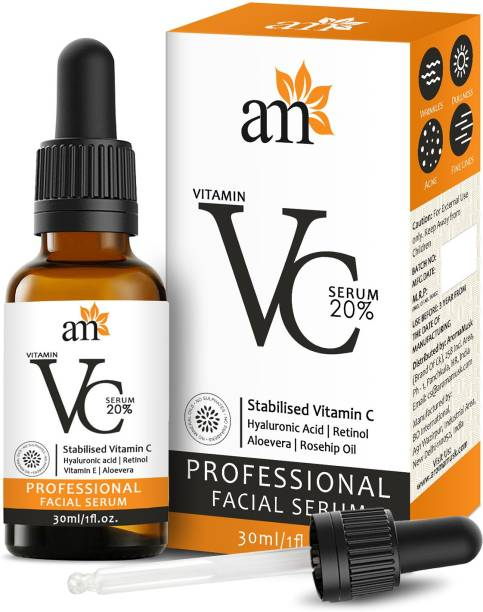 aromamusk Vitamin C 20% Night & Day Revitalizing Brightening Facial Serum