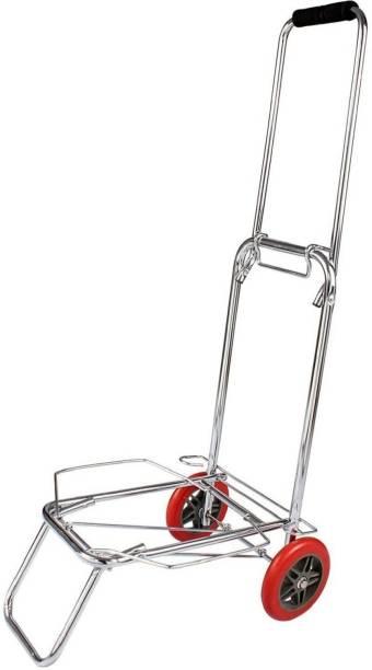 Trendegic Foldable Luggage Trolly Metal Bar Trolley