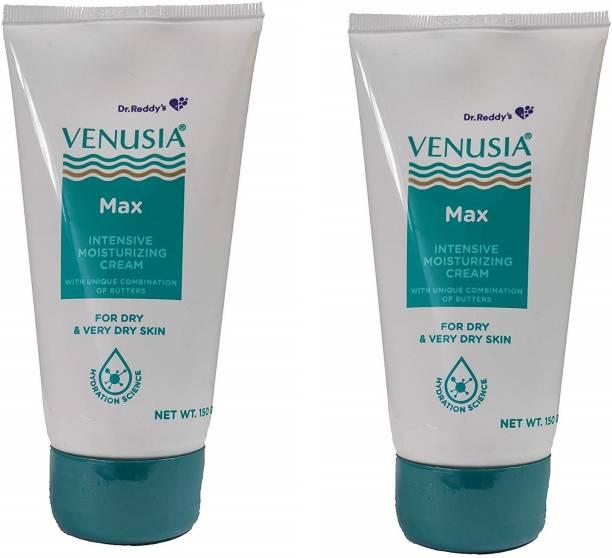 Dr Reddy Venusia Max Intensive Moisturizing Cream - Pack of 2