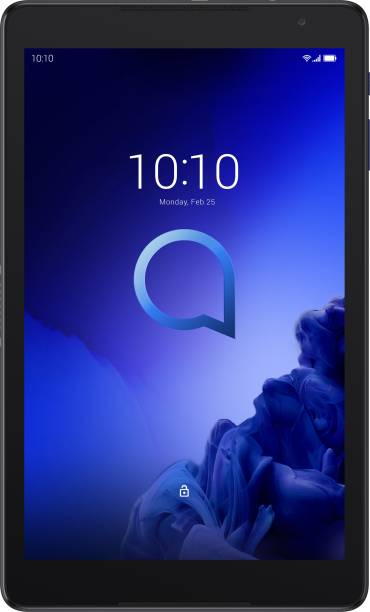 Alcatel 3T10 with Speaker 2 GB RAM 16 GB ROM 10 inch with Wi-Fi+4G Tablet (Prime Black)