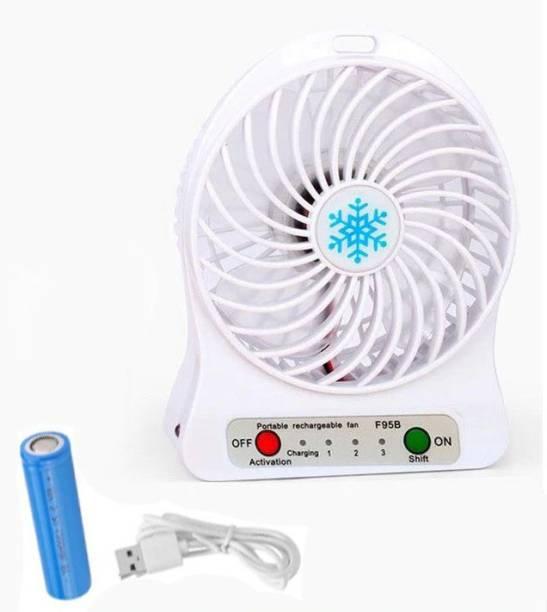 DILURBAN Mini Portable Fan Multi functional USB Rechargeable Kids Fans Battery Adjustable 3 Speed for Indoor Outdoor Kids Silent handheld fan Rechargeable Fan, USB Fan, USB Air Cooler