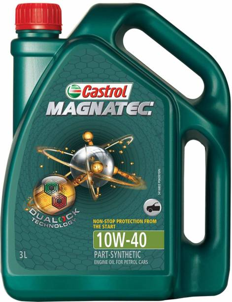 Castrol Magnatec 10W-40 API SN Part Synthetic Synthetic Blend Engine Oil