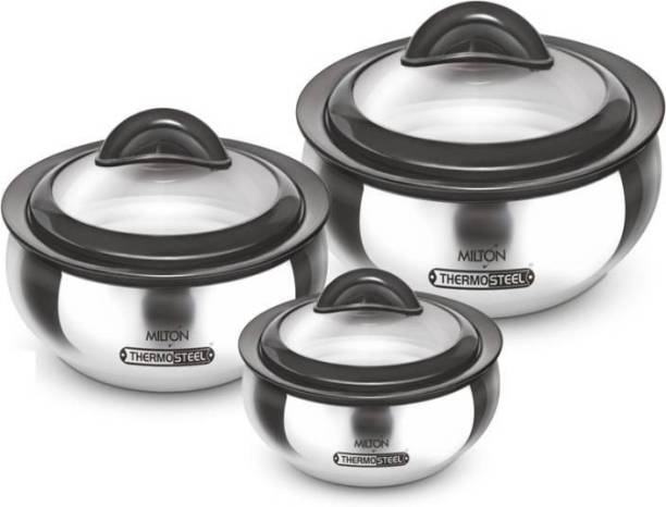 MILTON Clarion Jr. Gift Set Pack of 3 Serve Casserole Set