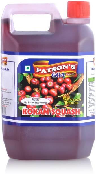 PATSON'S Kokam Squash Syrup Sharbat 1000ml