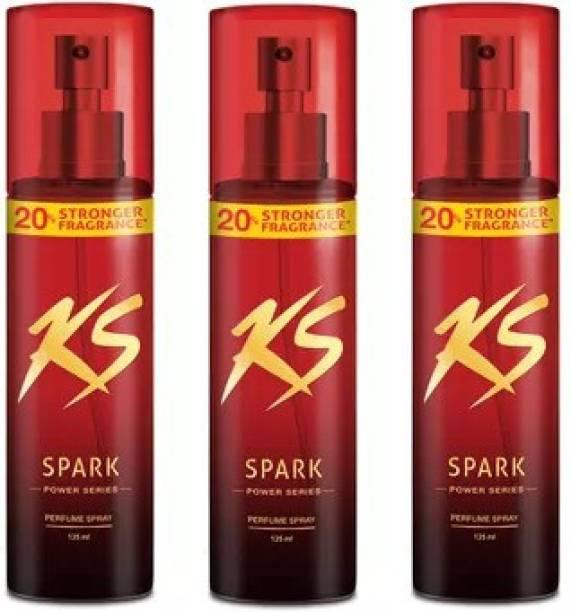 Kamasutra Spark Power Series Body Spray  -  For Men & Women