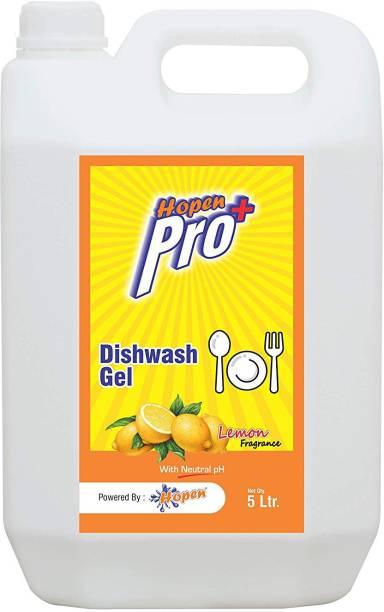 hopen Dishwash Gel, Lemon, 5L Dish Cleaning Gel