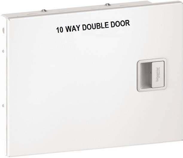 schneider EASY9 10 WAY DOUBLE DOOR Distribution Board