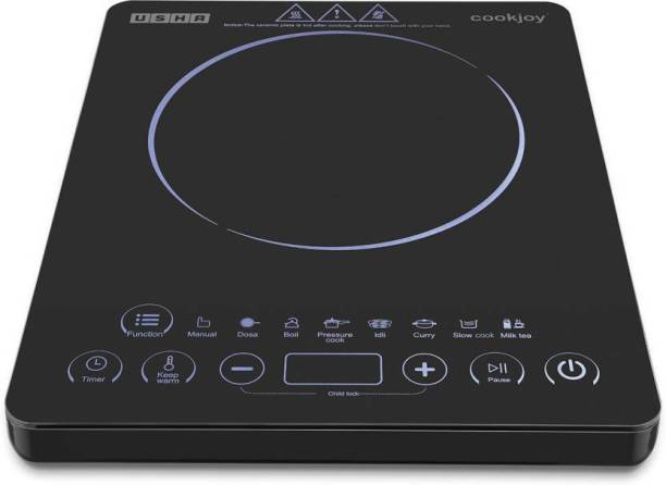 USHA 3820T INDUCTION COOKTOP TOUCH PANEL Induction Cooktop