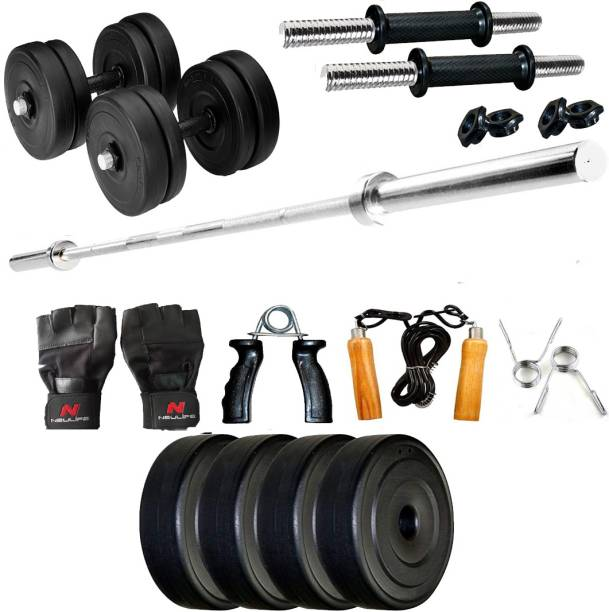 Neulife 12 kg 12kg home gym kit Home Gym Combo