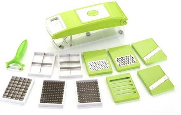 Paybox Multi-Purpose Plastic Vegetable and Fruits Grater NA Peeler Set