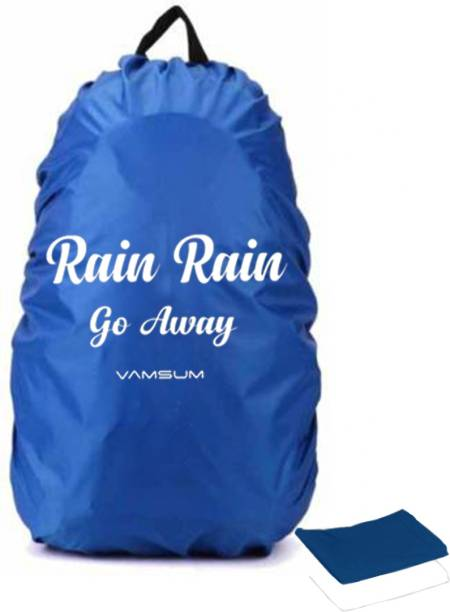 Vamsum VSRRGWBBRC002 Dust Proof, Waterproof Laptop Bag Cover, School Bag Cover, Trekking Bag Cover, Luggage Bag Cover