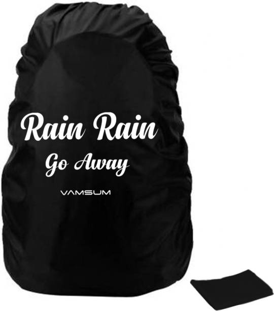 VAMSUM VSBPRC Dust Proof, Waterproof Laptop Bag Cover, Luggage Bag Cover, Trekking Bag Cover, School Bag Cover
