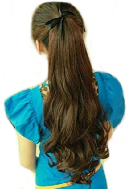 Alizz clip on and go wavy hairpiece like real Hair Extension