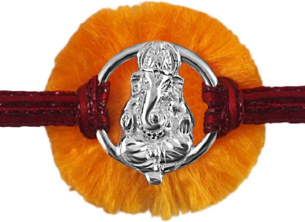 Parnika Thread Rakhi  Set