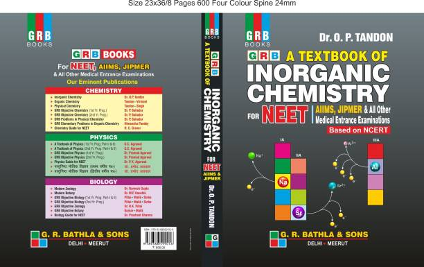 GRB A TEXT BOOK OF INORGANIC CHEMISTRY FOR NEET