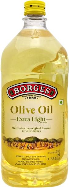 Borges Extra Light Olive Oil Plastic Bottle
